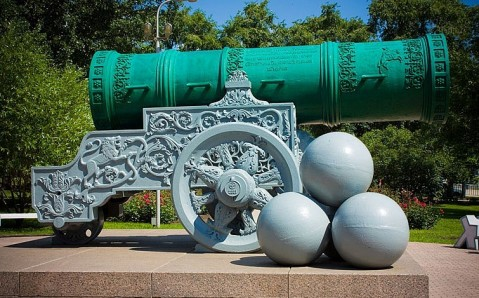 Tsar Cannon and the Bell