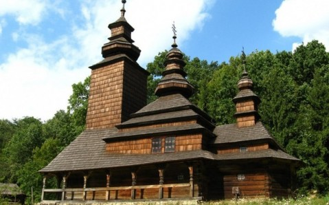 Open-air museum in Pirohovo
