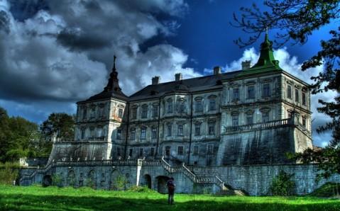 Le château de Pidhirtsi