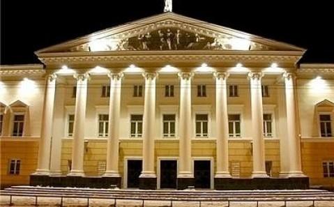 Das musikalisch-dramatische Theater von Winnyzja