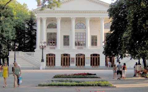Teatro del drama ruso en Sevastopol