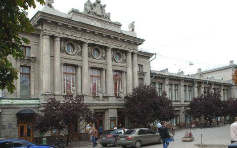 Das russische Dramatheater von der Krim