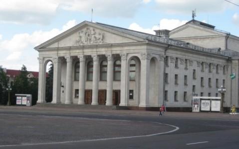 Das Musiktheater in Tschernihiw