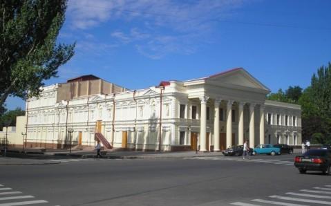 Das russiche Dramatheater von Mykolajiw