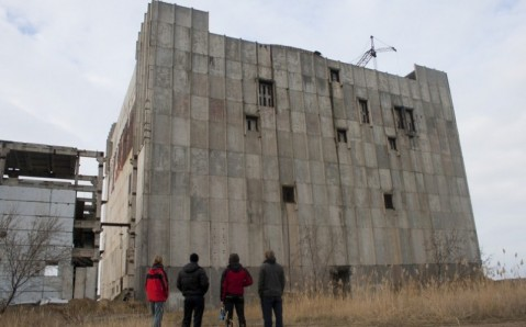 Saltos de la central nuclear