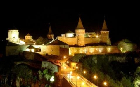 Die Festung von Kamjanez-Podilskyj