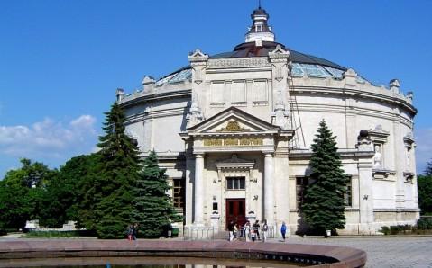 """Panorama """"La Defensa de Sevastopol en 1854-55"""""""