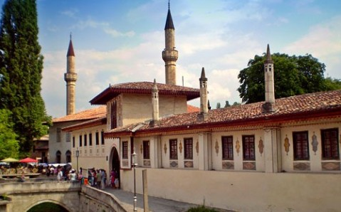 Der Khanpalast von Bachtschyssaraj