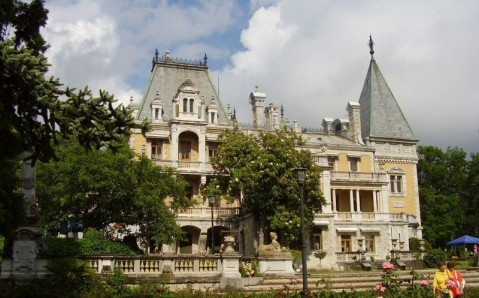 Le palais Massandrovski