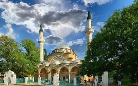 Die Moschee Juma-Jami