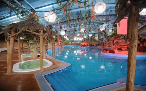 "Le parc aquatique ""Dream Island"""