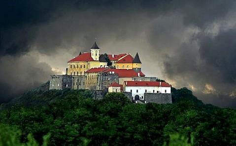 Die Burg Palanok