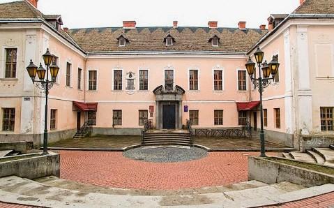 Der Palast von Rákóczi-Schönborn