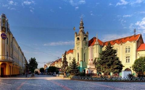 Das Rathaus (Mukatschewe)