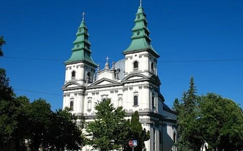 Dominikanische Kirche (die Kathedrale von der Unbefleckten Empfängnis der Heiligen Gottesmutter)