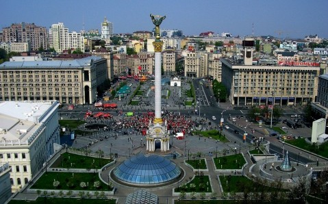 Maidan Nezalezhnosti and Khreshchatyk