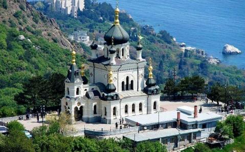 Iglesia de Foros (Templo de la Resurrección de Jesús)