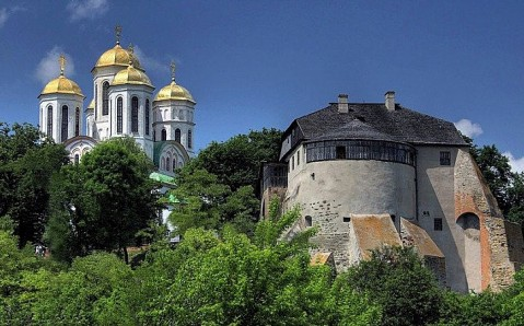 Castillo de Ostrog