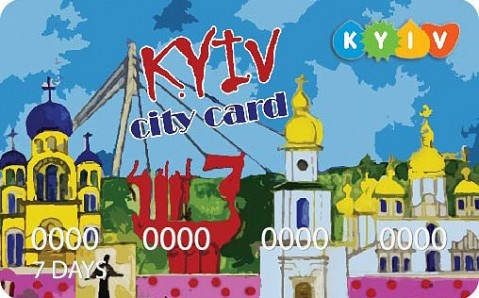 The tourists will have an opportunity to save with City Card in Kyiv.