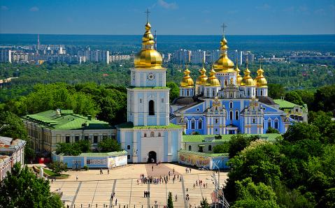 La vista del pájaro. Los mejores miadores de Kyiv