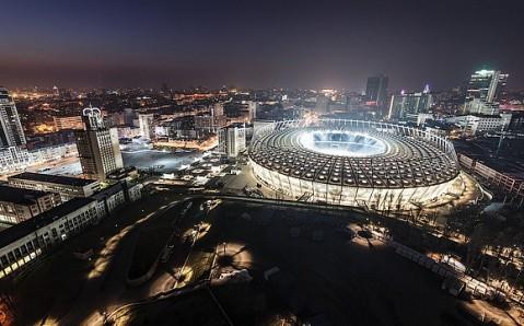 Estadio olímpico de Kyiv
