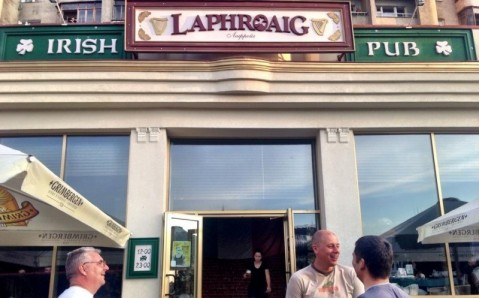 Ирландский паб Laphroig